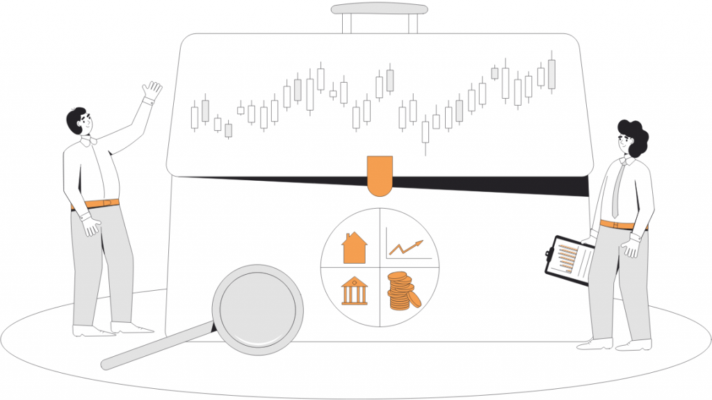 Rebalancing im Aktien-Portfolio, Analyse der Kursentwicklung verschiedener Assetklassen